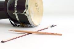 弓和鼓槌 图库摄影