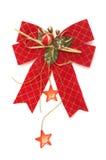 弓圣诞节红色 图库摄影