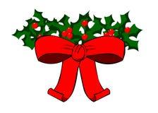 弓圣诞节 免版税库存图片