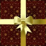 弓圣诞节 免版税库存照片