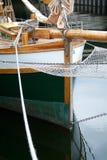 弓帆船 免版税库存照片