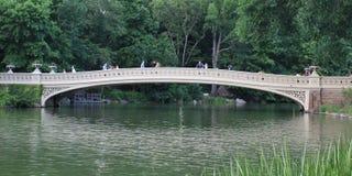 弓桥梁中央公园 库存图片