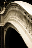 弓桥梁纽约 免版税库存照片