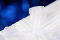 弓白色 免版税图库摄影