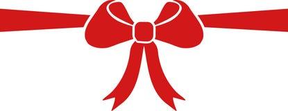 弓礼品包装材料 向量例证