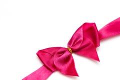 弓粉红色 库存照片
