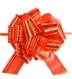 弓红色 免版税图库摄影