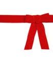 弓红色 免版税库存图片