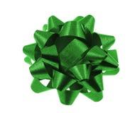 弓绿色 免版税库存照片