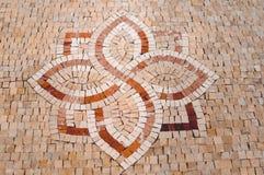 引人入胜的传统摩洛哥马赛克样式 图库摄影