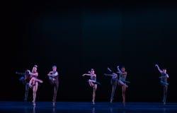 引人入胜的轻拍舞蹈古典芭蕾` Austen汇集` 免版税库存图片
