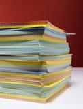 索引卡片 免版税库存图片
