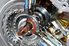 引擎传输 库存照片