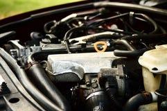 引擎侧视图 库存图片