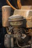 引擎农业拖拉机 免版税库存图片