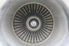 引擎前喷气机 免版税库存照片