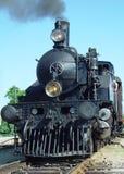 引擎前蒸汽 库存照片