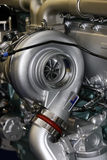 引擎卡车 库存照片