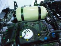 引擎和燃料 库存照片