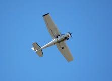 引擎唯一业余爱好的飞机 免版税库存图片