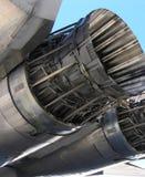 引擎喷气式歼击机 库存图片