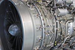 引擎喷气机涡轮 免版税库存图片