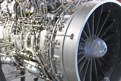 引擎喷气机涡轮 免版税图库摄影