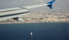 引擎喷气机视图可视翼 库存图片