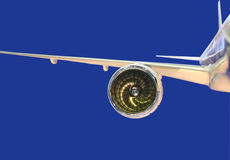 引擎喷气机设计 库存照片