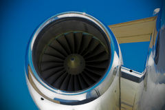 引擎喷气机 图库摄影