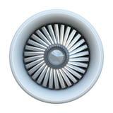 引擎喷气机 库存例证