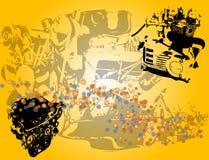 引擎形状 免版税图库摄影