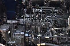 引擎拖拉机 免版税图库摄影