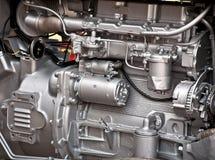 引擎拖拉机 免版税库存照片