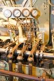 引擎指示符 免版税图库摄影
