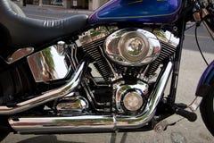 引擎摩托车 免版税图库摄影
