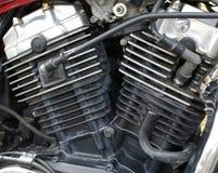 引擎摩托车 免版税库存图片