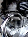 引擎摩托车 免版税库存照片