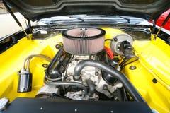 引擎旧车改装的高速马力汽车葡萄酒 库存图片
