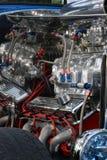 引擎旧车改装的高速马力汽车 库存照片