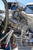 引擎旧车改装的高速马力汽车 免版税库存图片