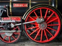 引擎有历史的约翰molson培训 库存照片