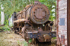 引擎机车蒸汽 免版税库存图片
