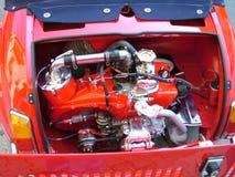 引擎红色 免版税图库摄影