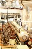 引擎船 库存照片