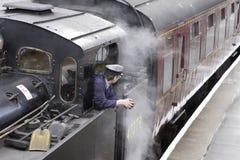 引擎蒸汽 免版税库存照片