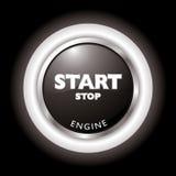 引擎起始时间 免版税库存照片