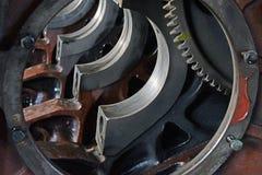 引擎轨的和活塞的 免版税库存图片