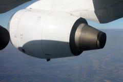 引擎飞机 免版税库存图片