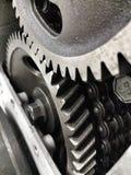引擎齿轮 库存图片